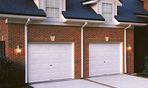 double garage doors image