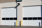 steel warehouse doors image